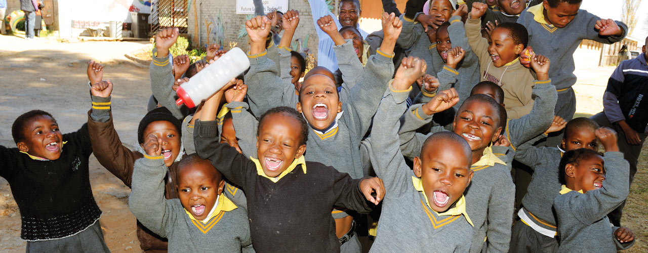 Children at Bopaneng