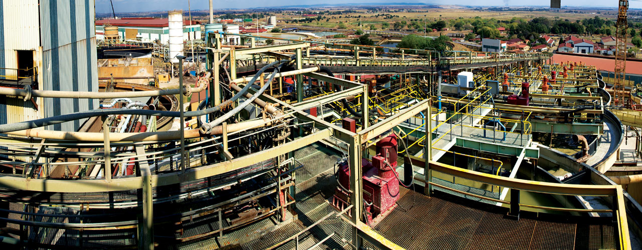 The Brakpan plant's